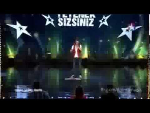 Gülmekten Öldüren Beatbox'cu Recep Salman Yetenek Sizsiniz Türkiye HD