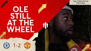 OLE STILL AT THE WHEEL! CHELSEA 1 MAN UTD 2 CheekySport Akeem Fancam