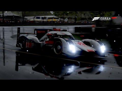 Le Mans (Circuit de la Sarthe) - #2 Audi Team Joest R18 e tron quattro - Forza Motorsport 6