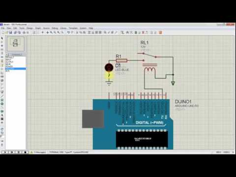 Control a Relay with Arduino Tutorial #5