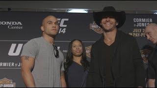 UFC 214: Media Day Faceoffs