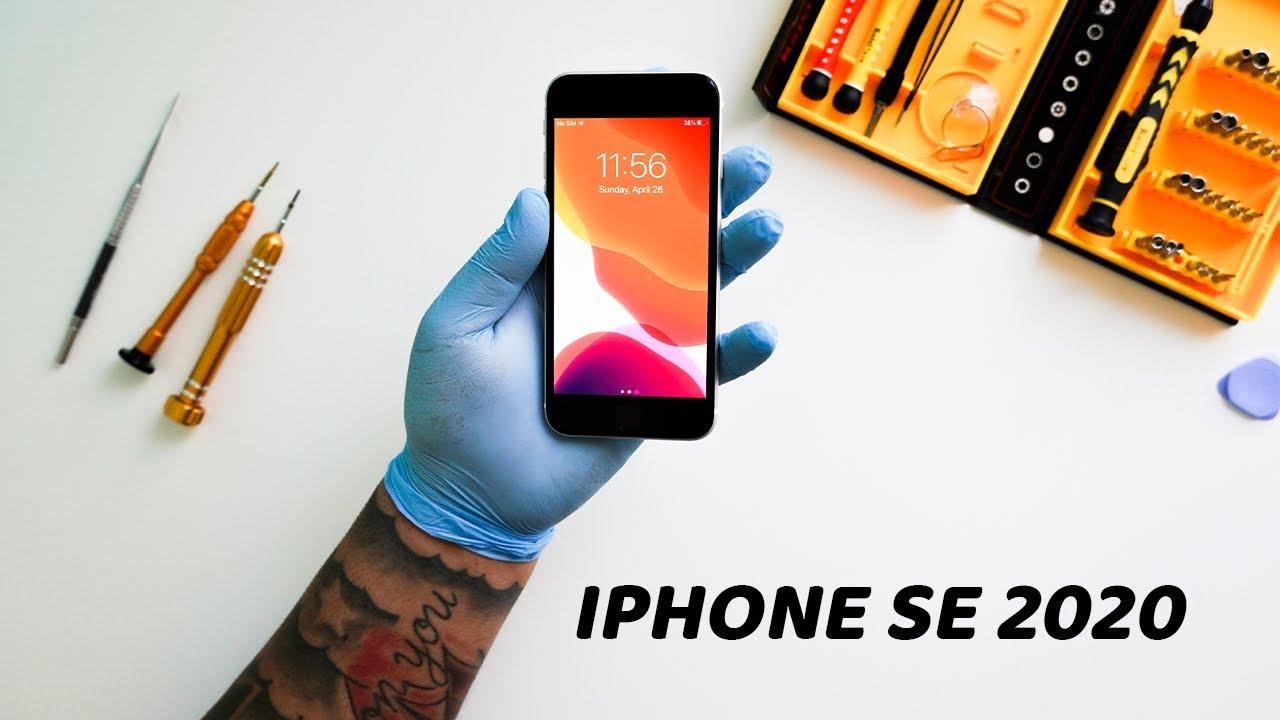iPhone SE 2020 Screen Replacement TearDown