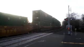 Union Pacific 8791 West w/Intermodal In The Middle @ West Sacramento 1/19/2019