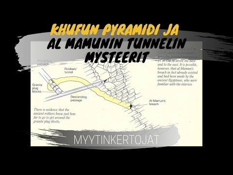 Khufun Pyramidi ja Al Mamunin tunnelin mysteerit