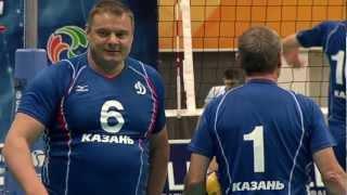 Матч ветеранов казанского и российского волейбола