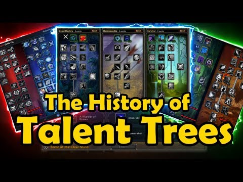 The History of Talent Trees in WoW  WCmini Facts
