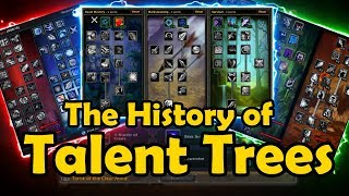 The History of Talent Trees in WoW - WCmini Facts