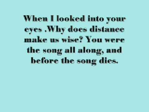 Rent- Your Eyes- With Lyrics