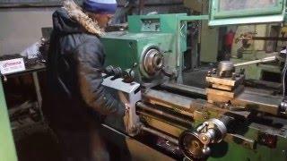 видео Токарно-винторезный станок 1В62Г