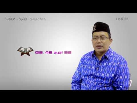 SiRam Hari 22 - Tadabur Qur'an Dalam Rangka I'tikaf