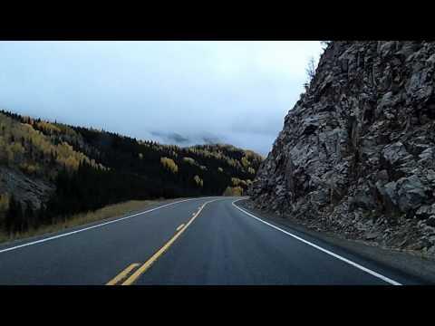 San Juan Skyway: US 550 Ouray - Silverton - Durango Dashcam