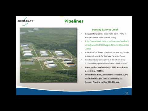 Genscape & DigitalGlobe Eagle Ford Energy Infrastructure Development Report Webinar