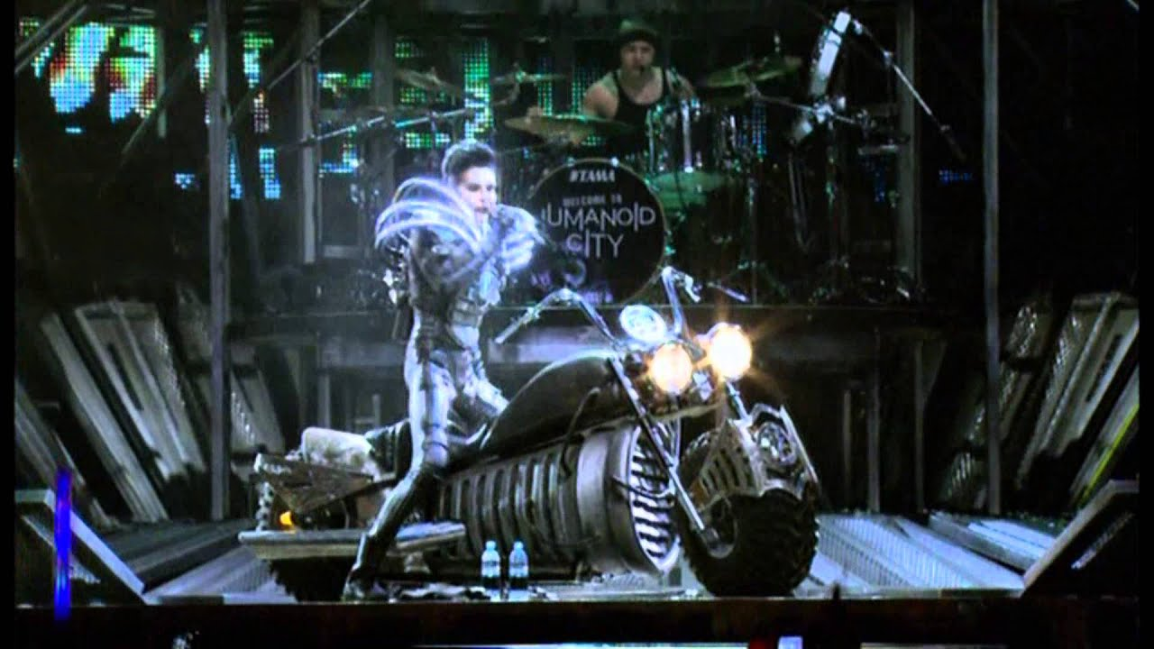 Tokio Hotel Humanoid City Live Wallpaper