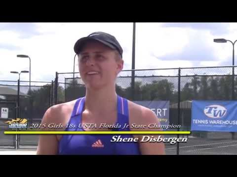 Shene Disbergen - Girls 18s Champion 2015 USTA Florida Jr ...