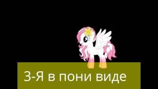 4 пони.Пони коды вы найдёте в опис.