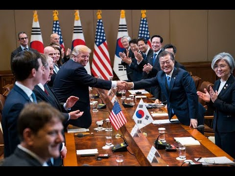 Trump Visits Korea: Angels of PEACE not WAR with North!
