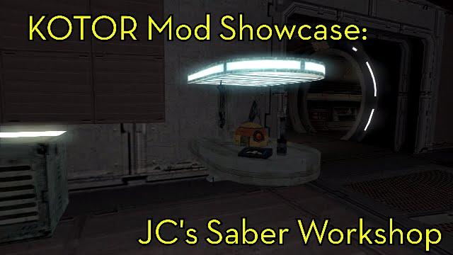 Kotor Mod Showcase: Saber Workshop [TSL]