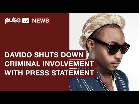 Davido Shuts Down Criminal Involvement Rumours with Press Statement   Pulse TV News
