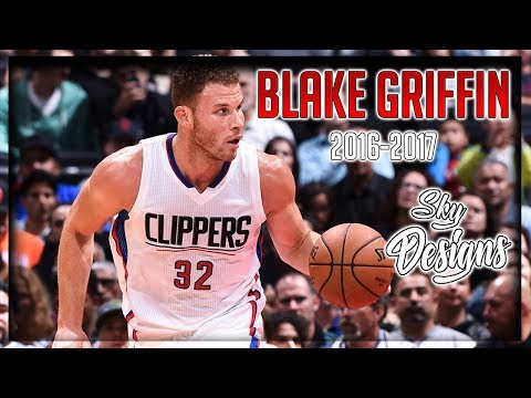 Blake Griffin Official 2016-2017 Season Highlights // 21.6 PPG, 8.1 RPG, 4.9 APG