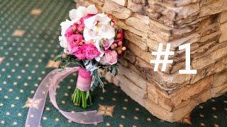 Создание букета невесты в розовых тонах. Flower-fantasy