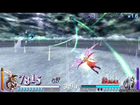 Dissidia: Final Fantasy [ENG] Kefka vs Sephiroth