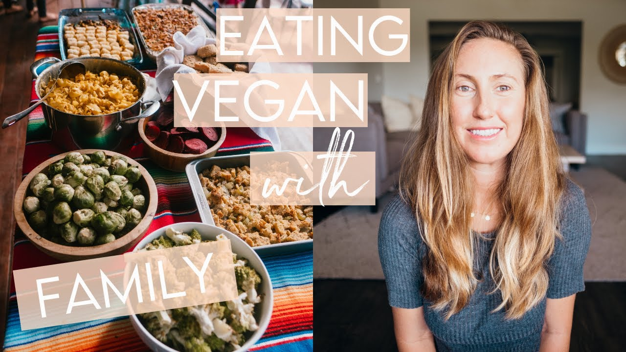 How to navigate being vegan during the holidays // My Experience