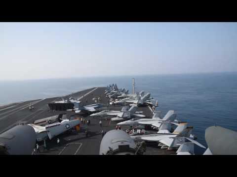 USS Dwight D. Eisenhower Flight Operations