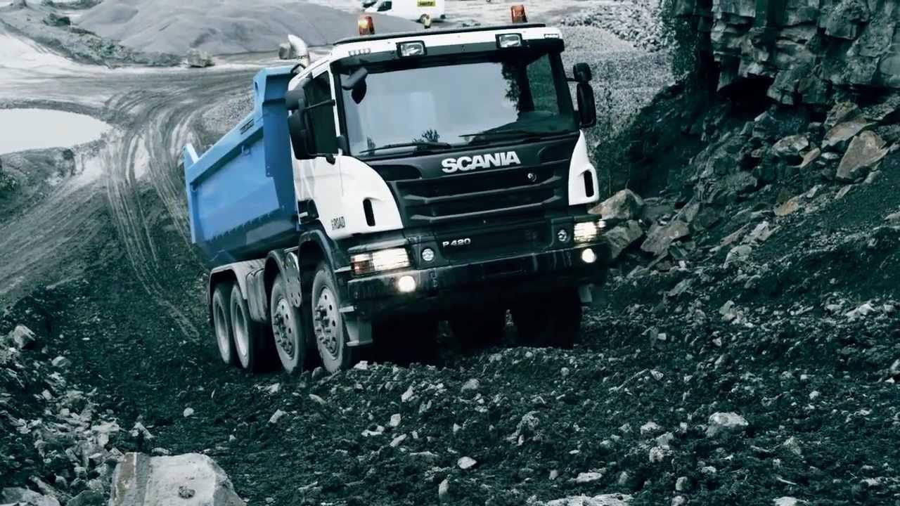 The new Scania Off-road trucks in action - YouTube