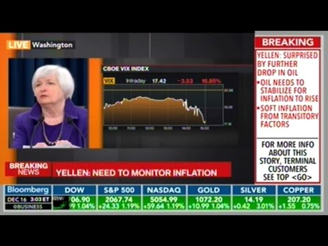 Federal Reserve Chair Janet Yellen Press Conference On Interest Rate Hike