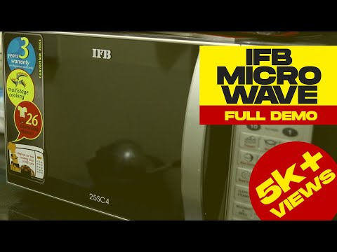 IFB Microwave Demo | How to use microwave | IFB 25L 25SC4 Learn from the Specialist