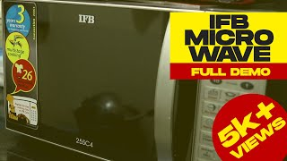 IFB Microwave Demo | How to use microwave | IFB 25L 25SC4