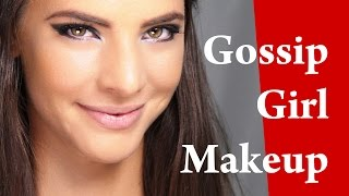 LEIGHTON MEESTER Gossip Girl Makeup Tutorial with Rock Smokey Eyes and CONTOURING for OVAL Face Thumbnail