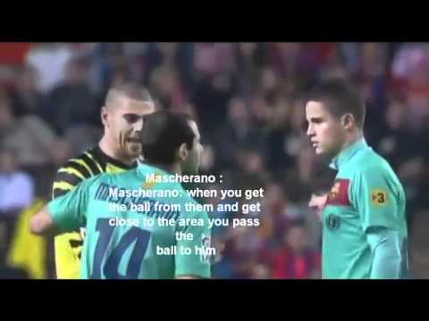 Victor Valdes Funny Accent With Translation HD   YouTube