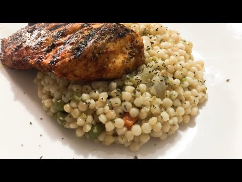 How To Make Israeli Couscous / GeekChef Electric Pressure Cooker Recipe / Easy Couscous Recipe