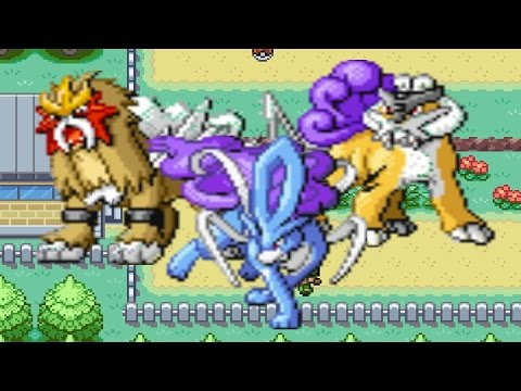 How To Find Raikou, Entei Or Suicune In Pokemon Fire Red And Leaf Green
