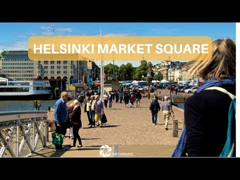 Helsinki Market Square // My viking Adventure