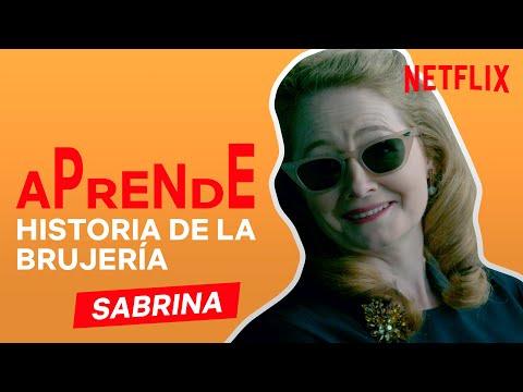 Aprende HISTORIA DE LA BRUJERÍA Con Las Escalofriantes Aventuras De SABRINA | Netflix España