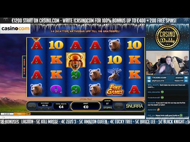 BIG WIN!!!! Buffalo Blitz Big win - Casino - Huge Win (Online Casino)