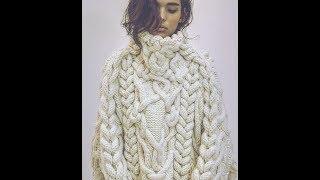 Модный Пуловер Своими Руками Спицами - 2019 / Trendy Pullover With His Hands Knitting