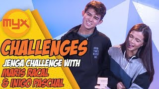 "INIGO PASCUAL, MARIS RACAL Take On The ""Jenga Challenge""!"