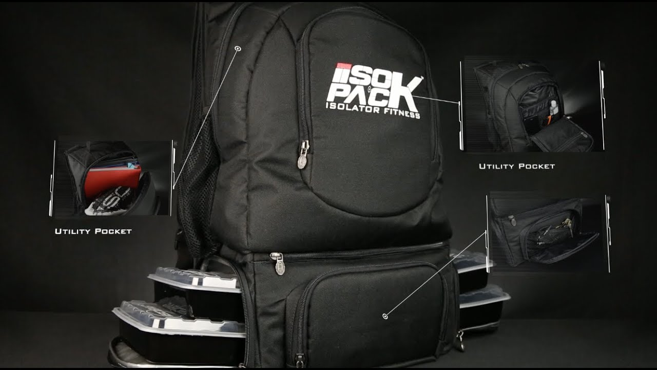 7e508d37cfaf Backpack Cooler - The Isopack by Isolator Fitness - YouTube