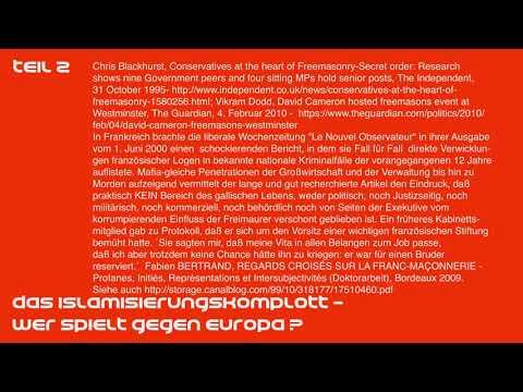 Das Islamisierungskomplott -  Wer spielt gegen Europa Teil 2/6