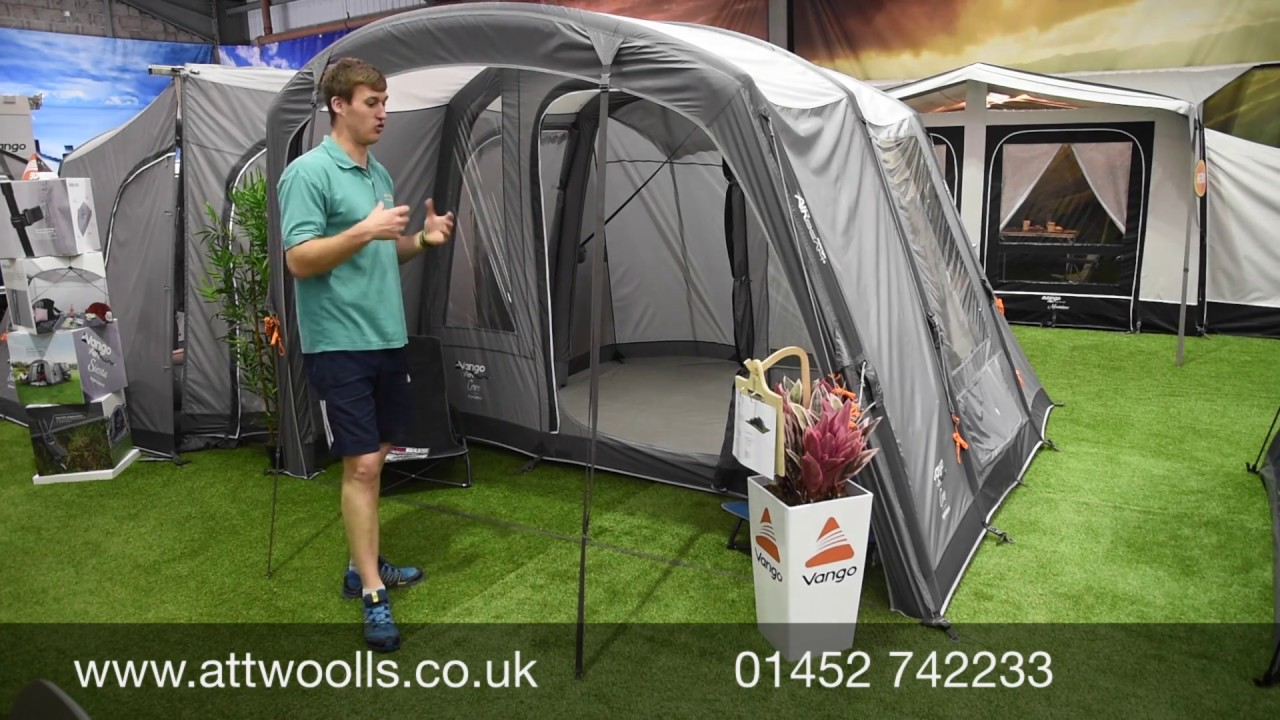 Vango Cove Air Driveaway Awning Review 2020 - YouTube