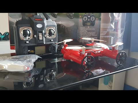 Syma X9S Flying Car Drone | Unboxing