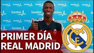El primer día de Lopetegui y Vinicius en el Real Madrid | Diario AS
