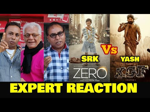 ZERO vs KGF  EXPERT REACTION  SRK vs Yash  No Solo Release For Zero on 21st Dec