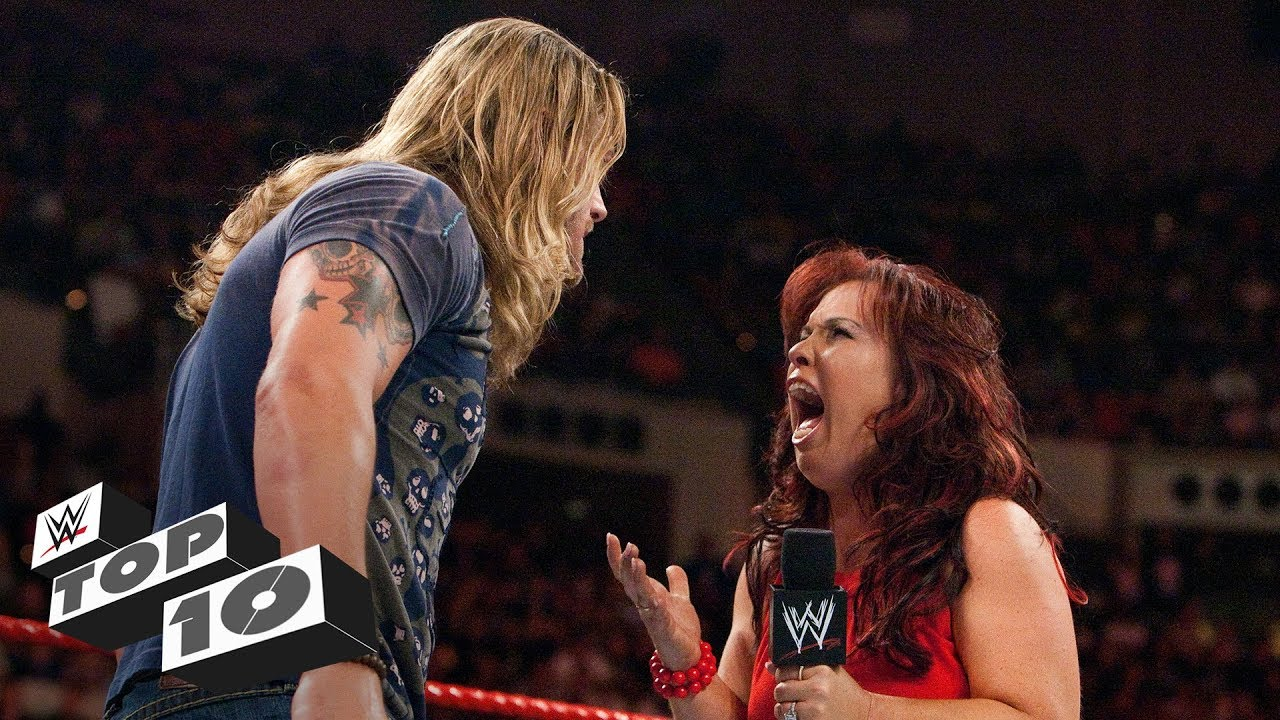 Couples' heated quarrels: WWE Top 10, Aug. 5, 2019