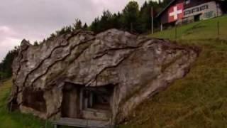 Schweizer Militärbunker 1.
