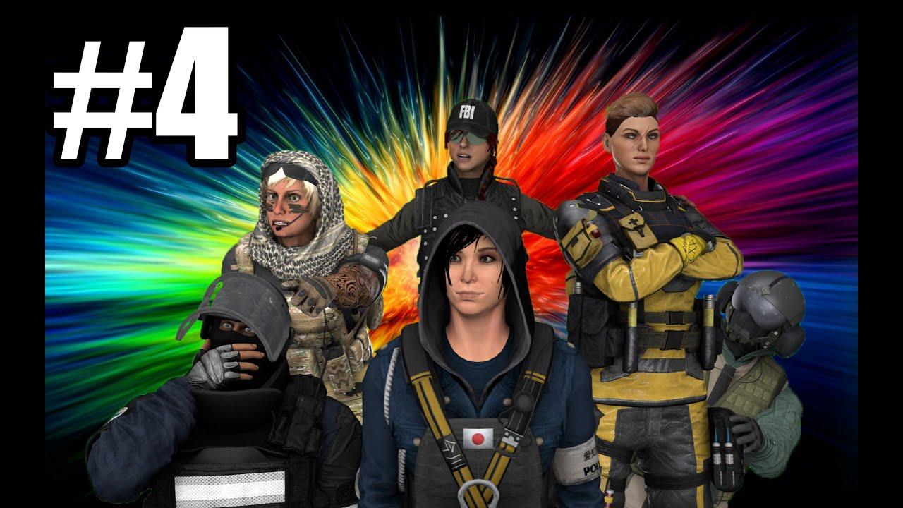 Silly Boys Play Siege 4   FailRP
