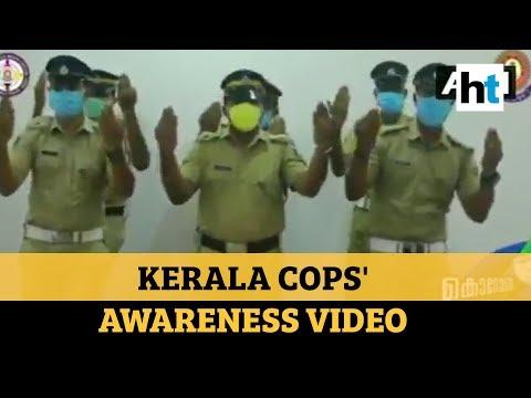 Coronavirus: Kerala police's dance video to encourage hand washing goes viral